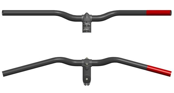 SQlab 302 Sport Trekking styr Ø 25,4 mm 25° sort